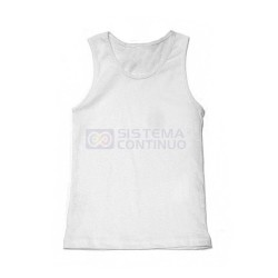 Musculosa Hombre Sublimable x5 Unidades